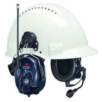 3M PELTOR WS LiteCom PRO III - Hard Hat Attached - MT73H7P3E4D10-NA