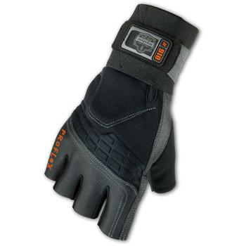 Ergodyne ProFlex® 910 Half Finger Impact Gloves w/Wrist Support