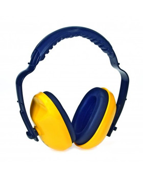 Liberty Duraplug Adjustable Headband Yellow Ear Muff 25 NRR - 20/Cs