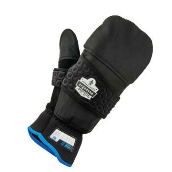Ergodyne ProFlex 816 Black Thermal Flip-Top Gloves