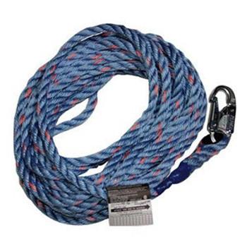 "Miller Titan 5/8"" Synthetic Rope Lifeline 25 ft. - 250 ft. (300L/)"