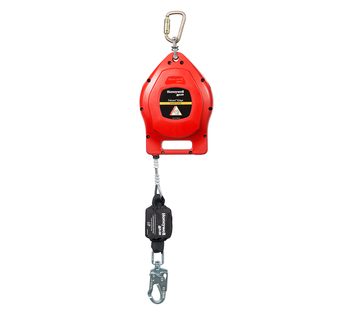 Miller Falcon 50 Ft. Edge Self-Retracting Wire Rope Lifeline MP50G-LE