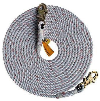 3M DBI-SALA  Rope Lifeline with 2 Snap Hooks 1202823