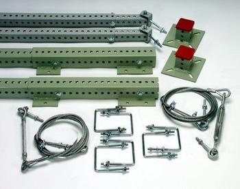 3M DBI-SALA  Sinco Rack Guard Extension Starter Kit, Flush 4101503