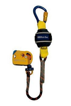 3M DBI-SALA  Rope-Safe Mobile/Static Rope Grab with Attached EZ-Stop 8700571, Gold, 2 ft. (0.6 m)