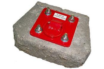 3M Protecta PRO Concrete D-ring Anchorage Plate AJ720A