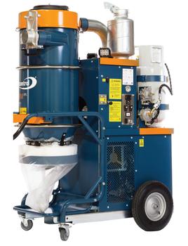 Dustcontrol DC Storm LPG Propane HEPA Dust Extractor - 3/4 View