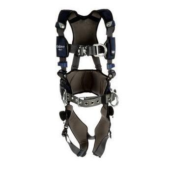 3M DBI-SALA ExoFit NEX Plus Comfort Construction Style Positioning/Climbing Harness 1140166 - X-Large - Gray