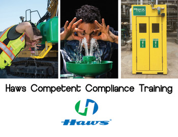 Haws Competent Compliance Training- Emergency Shower and Eyewash (ESEW) ANSI Z358.1 Inspection Course