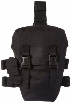 MSA Black Nylon Military Style CBRN and Riot Control Gas Mask Pouch - 10034184