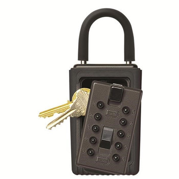 Kidde KeySafe™ Original Push-Button Lid Key Box (Portable) Black Reshipper - 001406K