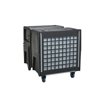 Abatement Technologies Bulldog BD2KM Negative Air Machine (1300cfm/2000cfm)