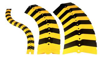 UltraTech Ultra -Sidewinder Extension - Medium - Black & Yellow - 1831