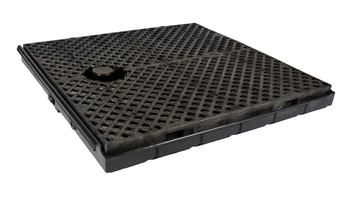 UltraTech Track Pans  - Center Pan With Grates - 9566
