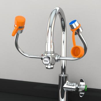 Guardian EyeSafe-X™ Faucet-Mounted Eyewash - G1101