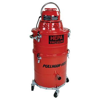 Pullman-Holt 86HEPA Wet/Dry Compact All-Steel 5 Gallon HEPA Vacuum - B160420