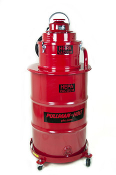 Pullman-Holt 55 Gallon 'Big Red' Commercial Wet/Dry HEPA Vacuum - B001136