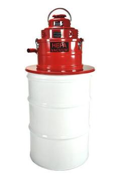 Pullman-Holt 55 Gallon Wet/Dry Drum Adapter HEPA Vacuum B160446