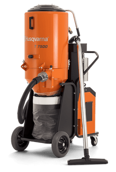 Husqvarna T7500 3-Phase HEPA Dust Extractor - 967664101