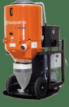 Husqvarna T18000 3-Phase HEPA Dust Extractor - 967663601