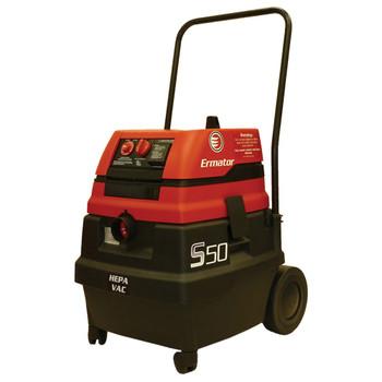 Ermator S50 14 Gallon Wet/Dry Self-Cleaning HEPA Vacuum - 200800094A