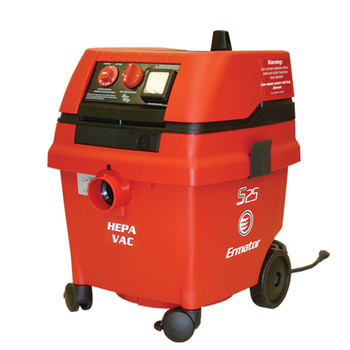 Ermator S25 7 Gallon Wet/Dry Self Cleaning HEPA Vacuum - 200800018A