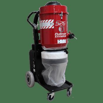Ermator S26 Single Phase HEPA Dust Extractor Vacuum 230V - 200900059B