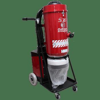 Ermator S36 Single Phase HEPA Dust Extractor 230V 50 Amp - 200900057D