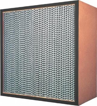 "24""x24""x12"" Negative Air Machine HEPA Filter - Wood Frame"