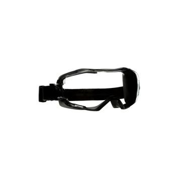 3M GoggleGear 6000 Series GG6001AF-GRY Gray Shroud Clear Anti-Fog/Anti-Scratch Lens 10ea/cs