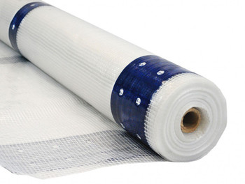 12 Mil Scaf-Lite 13' x 100' Flame Retardant Clear Scaffold Sheeting with Reinforced Eyelets