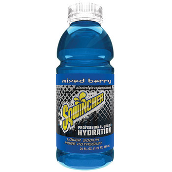 Sqwincher® Ready-To-Drink, 20 oz Bottles/Yield, Mixed Berry