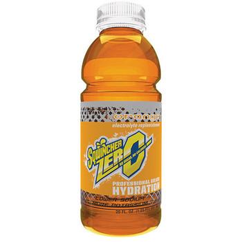 Sqwincher® Zero Ready-To-Drink, 20 oz Bottles/Yield, Orange