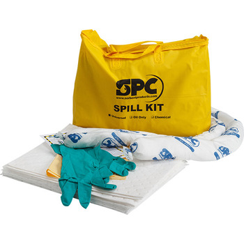 SPC® Portable Oil Only Economy Spill Kit