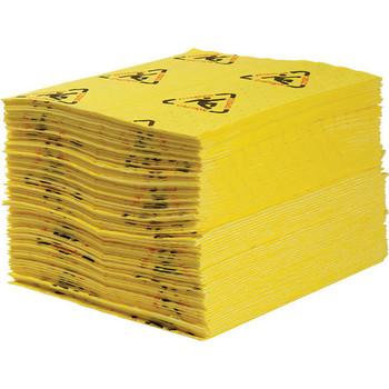 "SPC® Brightsorb™ Hi-Vis Light-Weight Pads, 15"" x 19"", 200/Case"