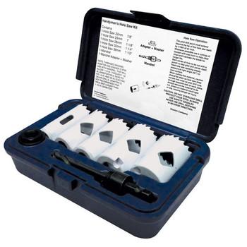 Disston® Blu-Mol® Xtreme Bi-Metal Handyman's 7-Piece Hole Saw Kit