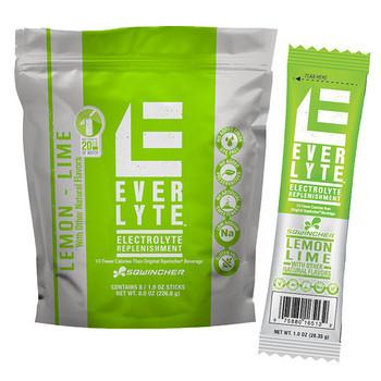 Sqwincher® EverLyte™ Sticks Single Serve, 1 oz Packs, 20 oz Yield, Lemon Lime