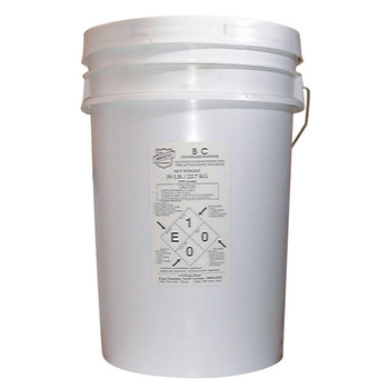 """Buckeye BC Standard Dry Chemical Recharge Agent, 50 lb, 12""""Dia x 19""""H"""