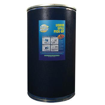 Spill Magic Absorbent Powder w/ Drum, 125 lb