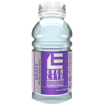 Sqwincher® Widemouth EverLyte™, Ready-To-Drink, 12 oz Bottles, Grape