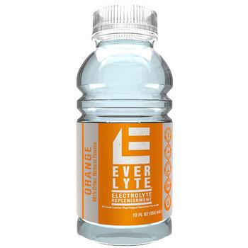 Sqwincher® Widemouth EverLyte™, Ready-To-Drink, 12 oz Bottles, Orange