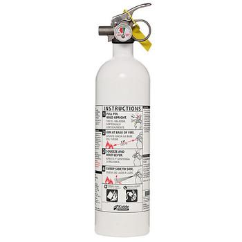 Kidde 2lb BC Mariner PWC Extinguisher w/ Metal Valve & Plastic Strap Bracket (Disposable)