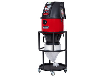 Pulse-Bac LongoPac Dustless Bagger System Single HEPA PRO-225 Dust Collector 103225-RB