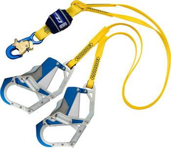 3M DBI-SALA EZ-Stop 100% Tie-Off Shock Absorbing Lanyard 1246410 - Yellow