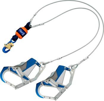 3M DBI-SALA EZ-Stop Leading Edge 100% Tie-Off Cable Shock Absorbing Lanyard 1246412 - Orange