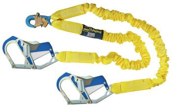 3M DBI-SALA ShockWave 2 100% Tie-Off Shock Absorbing Lanyard 1246416 - Yellow