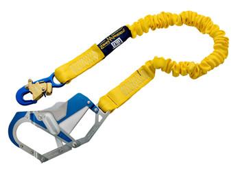 3M DBI-SALA ShockWave 2 Shock Absorbing Lanyard 1246417 - Yellow