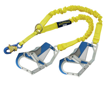 3M DBI-SALA ShockWave 2 100% Tie-Off Rescue Shock Absorbing Lanyard 1246418 - Yellow
