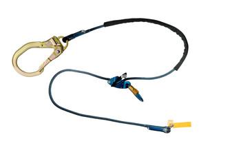 3M DBI-SALA Trigger X Tie-Back Adjustable Rope Positioning Lanyard - Single Mode 1234084 - Blue - 8'/Case