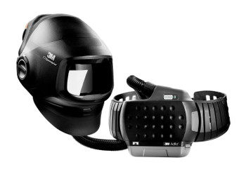 3M Speedglas Heavy-Duty Welding Helmet G5-01 w/3M Adflo High-Altitude PAPR Assembly No ADF 46-1101-00